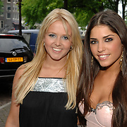 NLD/Amsterdam/20070515 - FHM verkiezing Meest Sexy vrouw van Nederland 2007, Monique Smit en Yolanthe Cabau van Kasbergen