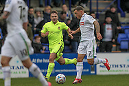 Lee Vaughan (Tranmere Rovers) during the Vanarama National League match between Tranmere Rovers and Southport at Prenton Park, Birkenhead, England on 6 February 2016. Photo by Mark P Doherty.