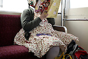young adult obese Japanese girl in Lolita style clothing