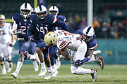 Boston College takes on UConn at Fenway Park in Boston on November 18, 2017. (Chris Marion / The Republican)