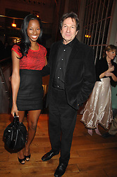 Singer JAMELIA and actor MICHAEL BRANDON at the Orion Authors Party held at the Royal Opera House, Covent Garden, London on 11th February 2008.<br />