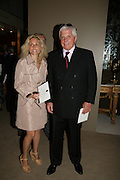 Pia Getty and Robert Miller, Private Preview of the Grosvenor House Art and Antiques Fair. 13 June 2007.  -DO NOT ARCHIVE-© Copyright Photograph by Dafydd Jones. 248 Clapham Rd. London SW9 0PZ. Tel 0207 820 0771. www.dafjones.com.