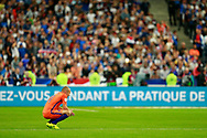 Netherlands' forward Arjen Robben gestures during the FIFA World Cup Russia 2018, Qualifying Group A football match between France and Netherlands on August 31, 2017 at the Stade de France in Saint-Denis, north of Paris, France - Photo Benjamin Cremel / ProSportsImages / DPPI