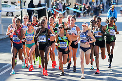 NYRR TCS New York City Marathon 2018<br /> Gudeta, Weightman, Tusa, Linden, Kieffer, Charboneau, Daska