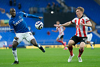 Football - 2020 / 2021 Premier League - Everton vs Sheffield United - Goodison Park<br /> <br /> <br /> Everton's Abdoulaye Doucoure  under pressure from Sheffield United's Ben Osborn <br /> <br /> <br /> COLORSPORT/TERRY DONNELLY