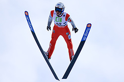 14.01.2016, Kulm, Bad Mitterndorf, AUT, FIS Skiflug WM, Kulm, Qualifikation, im Bild Anders Fannemel (NOR) // Anders Fannemel of Norway during his Qualification Jump of FIS Ski Flying World Championships at the Kulm, Bad Mitterndorf, Austria on 2016/01/14, EXPA Pictures © 2016, PhotoCredit: EXPA/ Martin Huber
