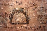 MEXICO, MEXICO CITY, MUSEUM Aztec; codex of Chichimecas