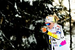 February 2, 2018 - Goms, SWITZERLAND - 180202 Lisa Vinsa of Sweden competes in the women's 7,5/7,5 km skiathlon during the FIS U23 Cross-Country World Ski Championships on February 2, 2018 in Obergoms..Photo: Vegard Wivestad GrÂ¿tt / BILDBYRN / kod VG / 170095 (Credit Image: © Vegard Wivestad Gr¯Tt/Bildbyran via ZUMA Press)