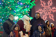 Middletown, New York - Holiday parade and tree lighting at Festival Square on Nov. 23, 2012.