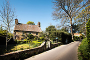 Le Rat - a National Trust cottage situated on a country lane in the heart of the St Lawrence countryside in Jersey, Channel Islands