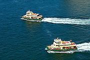 Two Sydney Harbour Ferries. Sydney, Australia