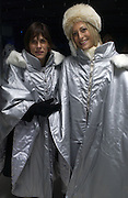 Nicky and Emily Maitlis. Opening of the Absolut Icebar. Heddon St. London. 29 September 2005. ONE TIME USE ONLY - DO NOT ARCHIVE © Copyright Photograph by Dafydd Jones 66 Stockwell Park Rd. London SW9 0DA Tel 020 7733 0108 www.dafjones.com