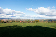 Landscape view from the top of Cleehill near Birmingham, United Kingdom. Cleehill is a village in south Shropshire, England. It is sometimes written as Clee Hill Village to avoid confusion. It lies in the civil parish of Caynham.