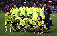 Photo: Paul Thomas.<br /> Liverpool v Barcelona. UEFA Champions League. Last 16, 2nd Leg. 06/03/2007.<br /> <br /> Barcelona.