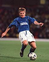 Andy Hessenthaler (Gillingham). Watford v Gillingham, League Division 1, 17/10/2000. Credit Colorsport / Matthew Impey