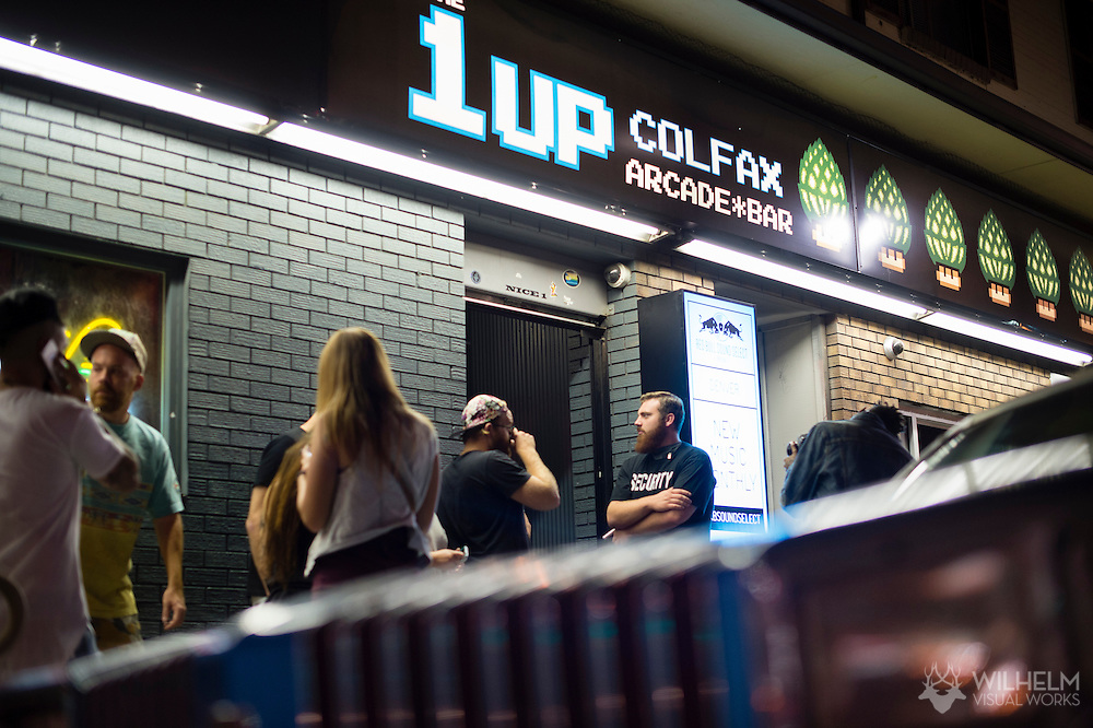 The venue for Red Bull Sound Select Presents Denver at The 1Up on Colfax in Denver, CO, USA, on 30 July, 2015.