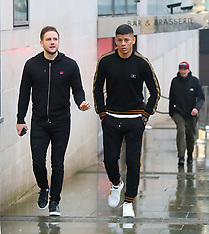 Marcos Rojo in Manchester City - 21 Dec 2017