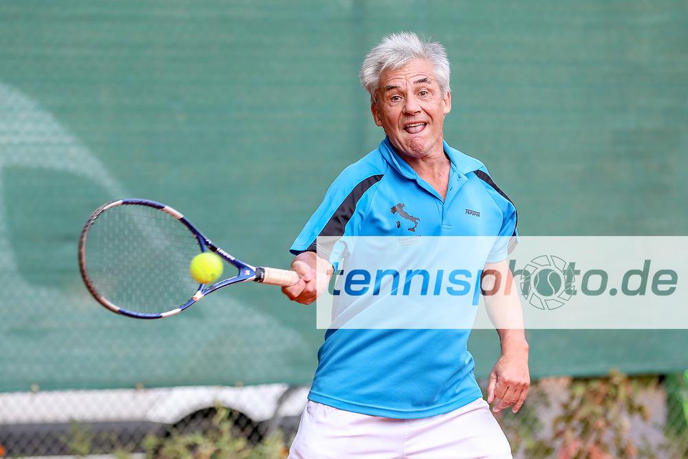 Norbert Walter (TC Grün-Weiss Nikolassee 1925), Grunewald Open 2018 - Senioren, Finals, Berlin, 16.09.2018, Foto: Claudio Gärtner