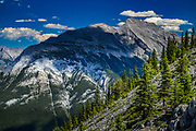 Mount Rundle is a mountain in Banff National Park overlooking the city of Banff, Alberta.