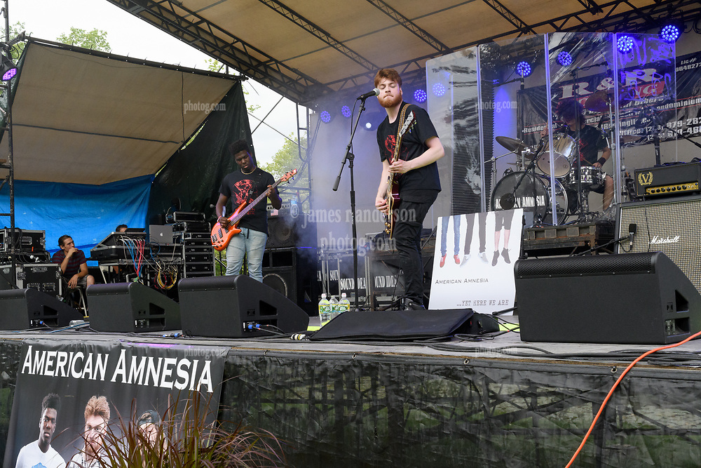 American Amnesia Performing at the Wolcott Country Fair. 19 August 2018