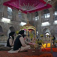 Asia, India, Delhi. Sikh Temple in Old Delhi.