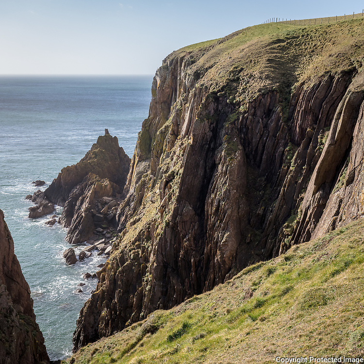 The Mull of Galloway cliffs II, Dumfries and Galloway, Scotland.