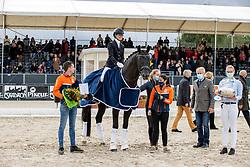 ROCKXFry Charlotte, GBR, Kjento, Van Os Jorg<br /> World Championship Young Horses Verden 2021<br /> © Hippo Foto - Dirk Caremans<br />  28/08/2021