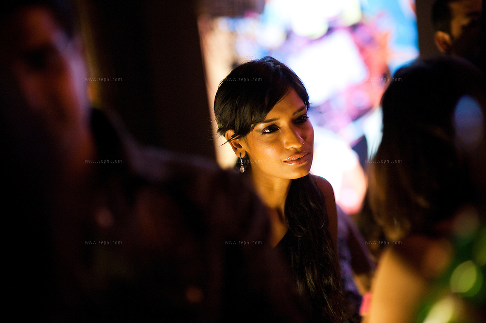 Krishna, a top Indian model, goes out clubbing at Urban Pind, New Delhi