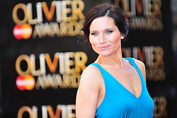 © Licensed to London News Pictures. 15/04/2012. London, England.Kate Fleetwood attends the 2012  Olivier Awards at The Royal Opera House in Covent Garden London on April 15th, England. Photo credit : ALAN ROXBOROUGH/LNP