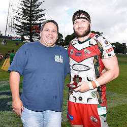 BRISBANE, AUSTRALIA - MARCH 19: Brendon Gibb poses for a photo after the Round 3 QRL Intrust Super Cup match between Wynnum Manly and Tweed Heads Seagulls at Ron Stark Oval on March 18, 2017 in Brisbane, Australia. (Photo by Patrick Kearney/Wynnum Manly Seagulls)