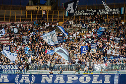 September 15, 2018 - Naples, Italy - Supportes curve A.. during the Italian Serie A football SSC Napoli v AC Fiorentina at S. Paolo Stadium in Naples on September 15, 2018  (Credit Image: © Paolo Manzo/NurPhoto/ZUMA Press)