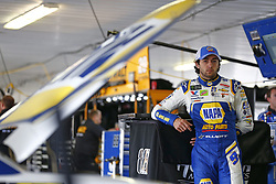 June 1, 2018 - Long Pond, Pennsylvania, United States of America - Chase Elliott (9) hangs out in the garage during practice for the Pocono 400 at Pocono Raceway in Long Pond, Pennsylvania. (Credit Image: © Justin R. Noe Asp Inc/ASP via ZUMA Wire)