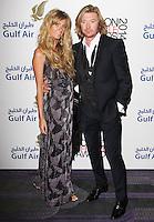 Kelly Simpkin & Nicky Clarke, London Lifestyle Awards 2014, The Troxy, London UK, 08 October 2014, Photo By Brett D. Cove