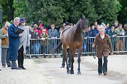 Taylor Izzy, (GBR), Thistledown Poposki<br /> First Horse Inspection - Mitsubishi Motors Badminton Horse Trials <br /> Badminton 2015