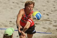 Volleyball Sandvolleyball Beachvolleyball<br />Swatch FIVB World Tour Conoco Phillips Grand Slam<br />Stavanger 260608<br />Foto: Sigbjørn Andreas Hofsmo, Digitalsport<br /><br />Iver Horrem - Bjørn Maaseide