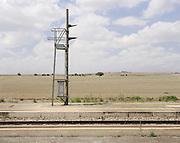Semaforo, stazione Pescariello. Bari, 11 agosto 2013. Christian Mantuano / OneShot