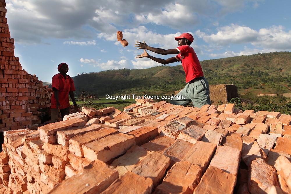 brick factory in Burundi