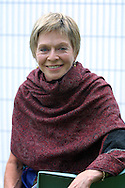 British actress Susannah York pictured at the Edinburgh International Book Festival where she gave a talk on the subject of Shakespeare's women.