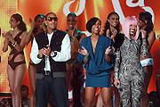27 February 2010- New York, NY- l to r: Ludacris, Keva J and Nicki Minaj at the BET 2010 RIP The RUNWAY held at the Hammerstein Ballroom on February 27, 2010 in New York City. Photo Credit: Terrence Jennings/Sipa