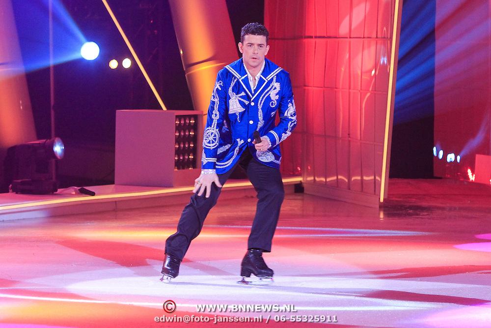 NLD/Hilversum/20130119 - 4e Liveshow Sterren Dansen op het IJs 2013, Ryan Shollert