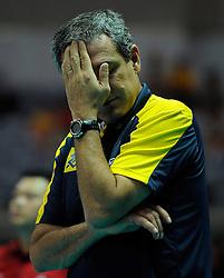 01-07-2012 VOLLEYBAL: WGP FINAL BRAZILIE - TURKIJE: NINGBO<br />Head coach Jose Roberto Guimaraes<br />©2012-FotoHoogendoorn.nl
