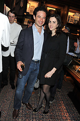 MARCUS & ALEXA WALEY-COHEN at a reception hosted by Ralph Lauren Double RL and Dexter Fletcher before a private screening of Wild Bill benefitting FilmAid held at RRL 16 Mount Street, London on 26th March 2012.