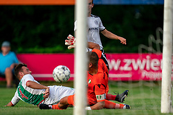 Joeri de Caes of VV Maarssen in action. Friendly match against EDO and Maarssen lost the home match with 3-0 on 20 August 2020 in Maarssen.