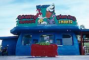 Fast food restaurant near the Black Hills of South Dakota.