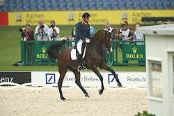 Van Der Meer Patrick, (NED), Uzzo<br /> European Championship Aachen 2015 - Dressage<br /> © Hippo Foto - Stefan Lafrentz