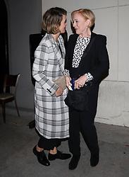 March 25, 2018 - Los Angeles, California, USA - 3/24/18.Sarah Paulson and wife, Holland Taylor are seen at ''Carig''s in West Hollywood, CA. (Credit Image: © Starmax/Newscom via ZUMA Press)