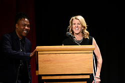 "Hosts Roger Ross Williams and Rory Kennedy during  the Academy of Motion Picture Arts and Sciences' ""Oscar Week: Documentaries"" event on Tuesday, February 19, 2019 at the Samuel Goldwyn Theater in Beverly Hills. The Oscars® will be presented on Sunday, February 24, 2019, at the Dolby Theatre® in Hollywood, CA and televised live by the ABC Television Network."