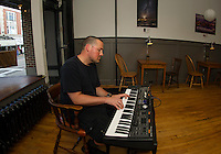 Wednesday Jazz Night with Jonathan Lorentz at the Wayfarer downtown Laconia.  (Karen Bobotas/for the Laconia Daily Sun)
