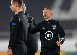 HELSINKI, FINLAND - Thursday, September 3, 2020: Wales' manager Ryan Giggs at the final whistle during the UEFA Nations League Group Stage League B Group 4 match between Finland and Wales at the Helsingin Olympiastadion. Wales won 1-0. (Pic by Jussi Eskola/Propaganda)