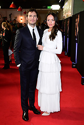 Sam Claflin and Laura Haddock attending The world premiere of My Cousin Rachel held at Picturehouse Central Cinema in Piccadilly, London.